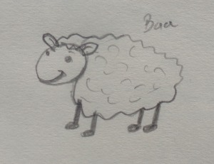 The forest sheep