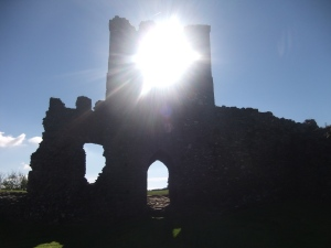 Llansteffan Castle 2013