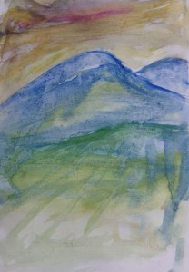 Blue Mountain sketch