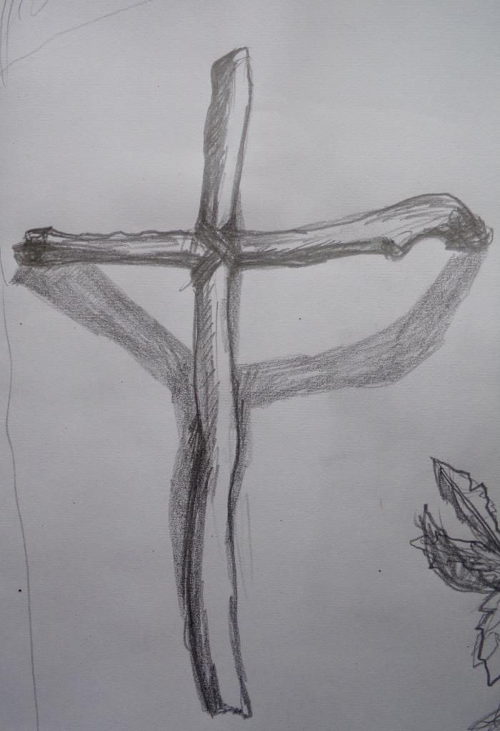 Driftwood Cross