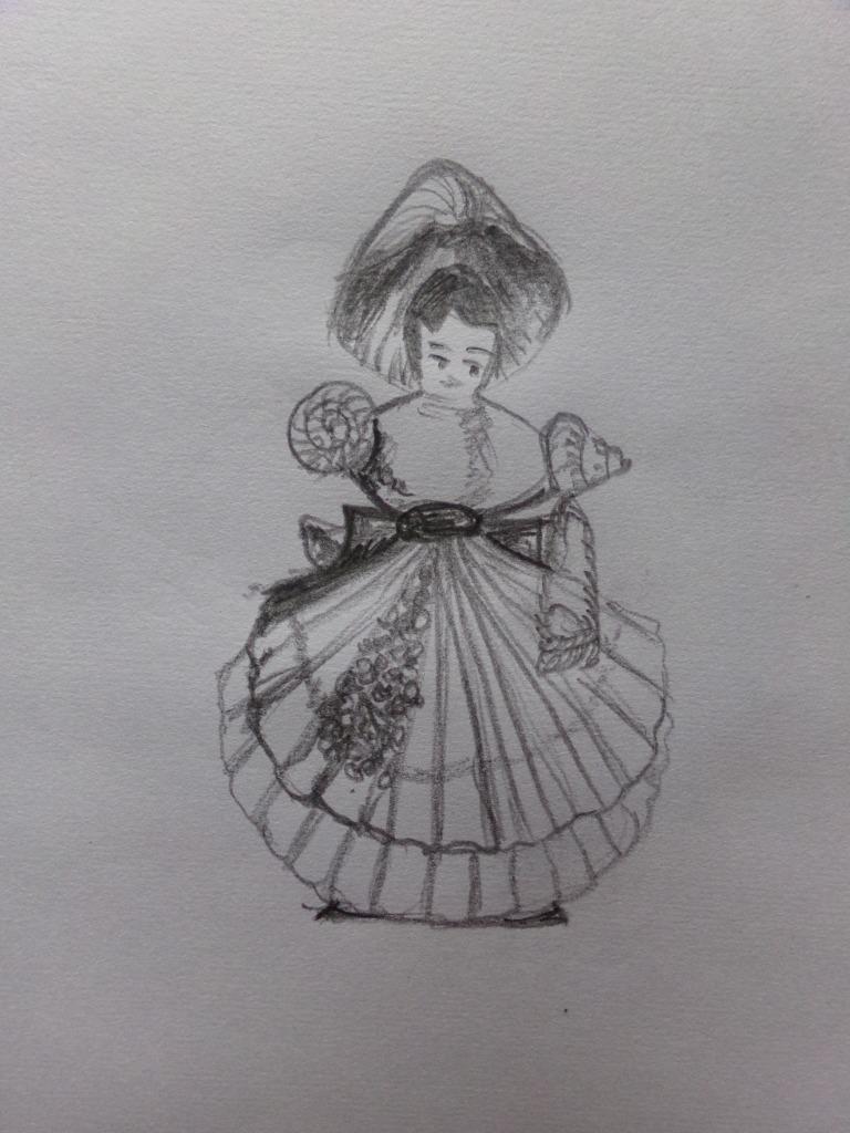 Shell lady
