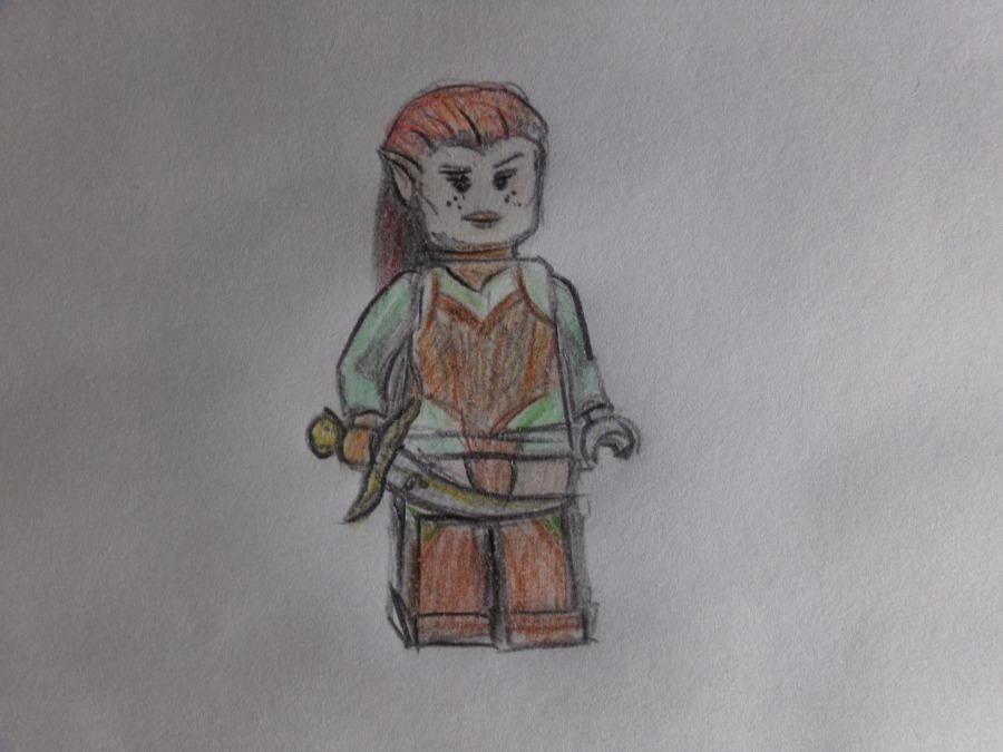 Lego Tauriel