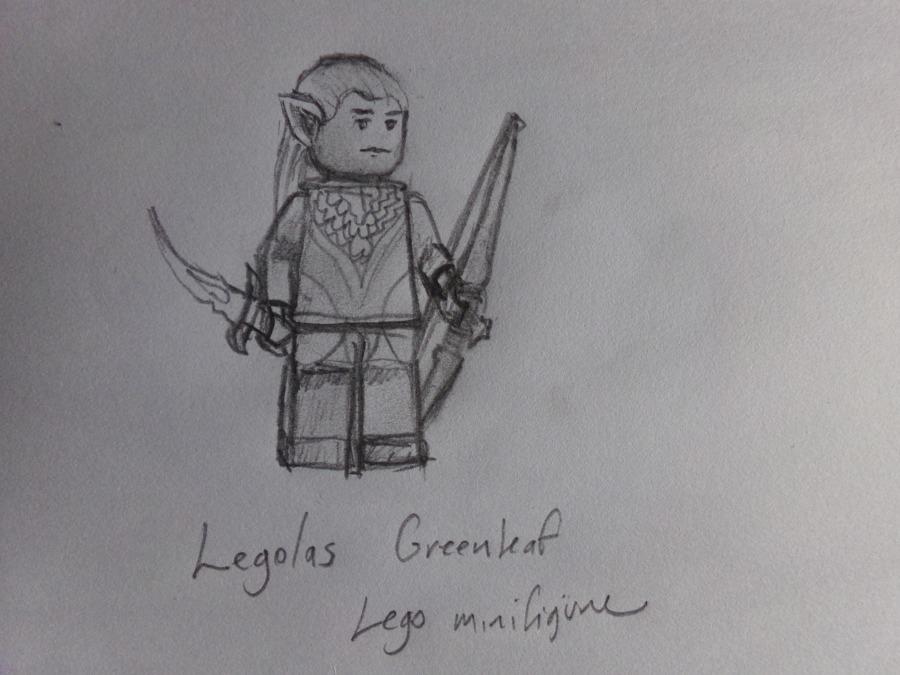 lego Legolas Greenleaf minifigure