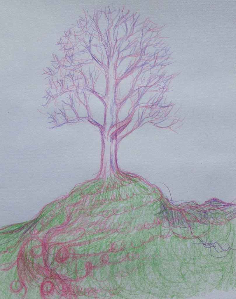 Tree on Mound