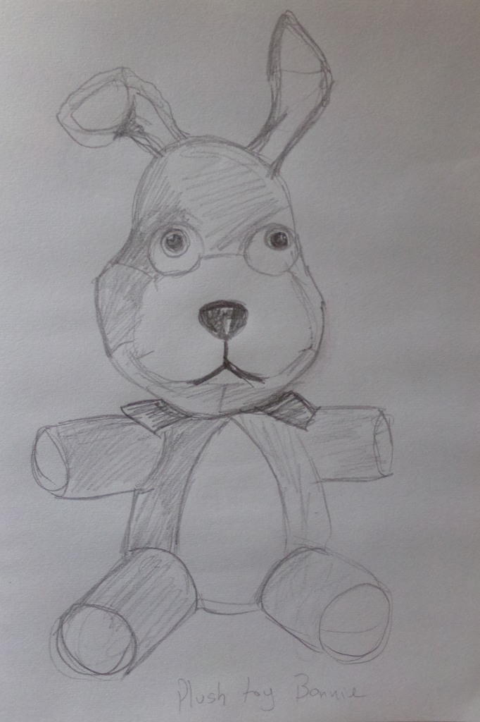 Five nights at Freddy`s Bonnie plush toy