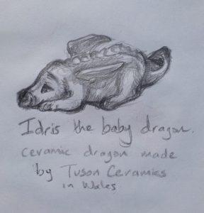 Idris the baby dragon