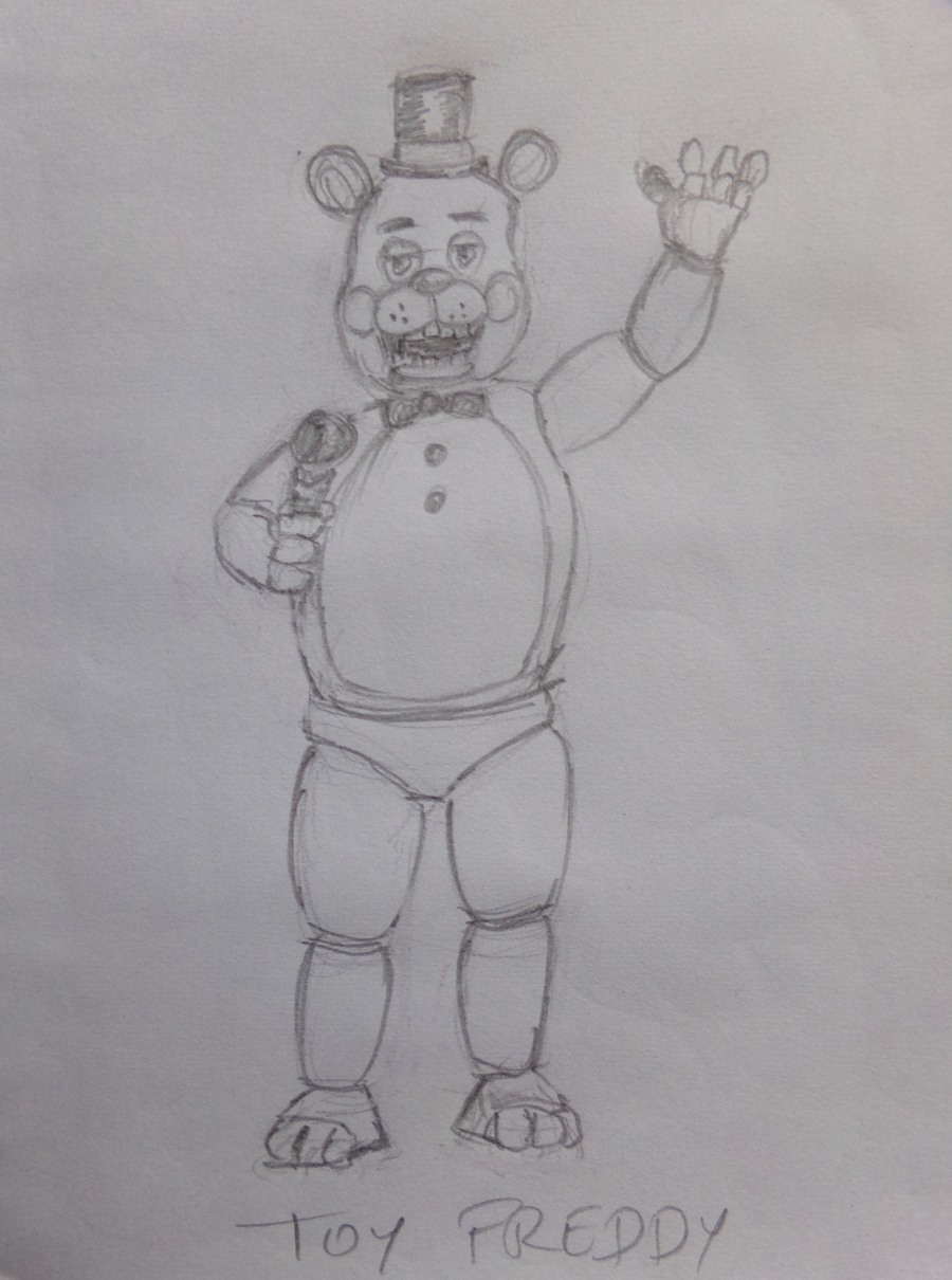 Toy Freddy from Five nights at Freddy`s