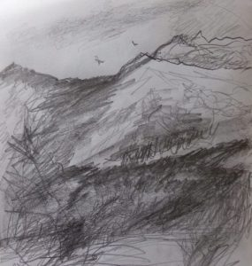 More mountains and trees