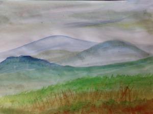 Brecon hills