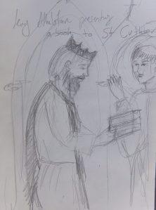 Athelstan and St. Cuthbert