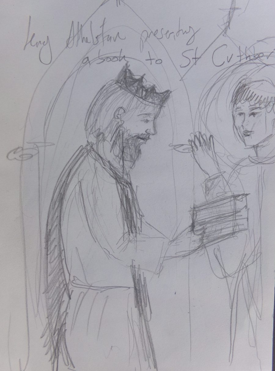 Athelstan and St. Cuthbert