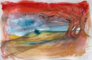 Sketch 158, climate change series
