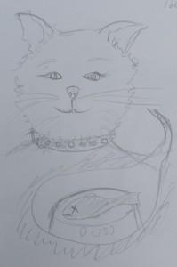 Sketch 176 Puss