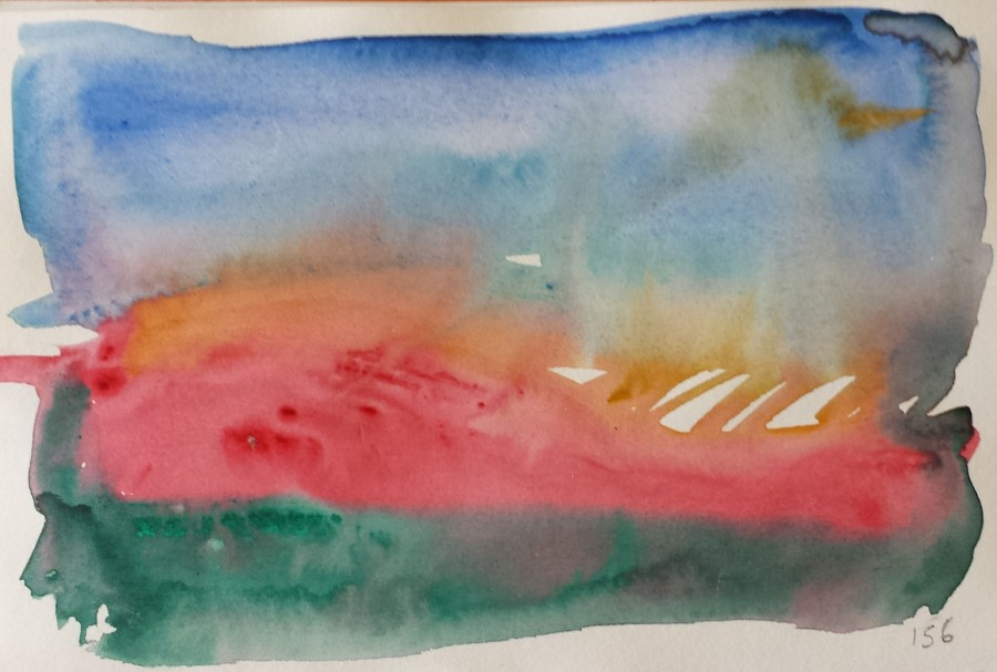 Abstract landscape 156 . changing climate series