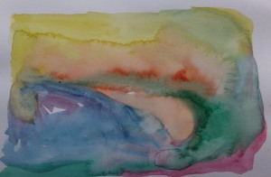 Sketch 188 Abstract landscape