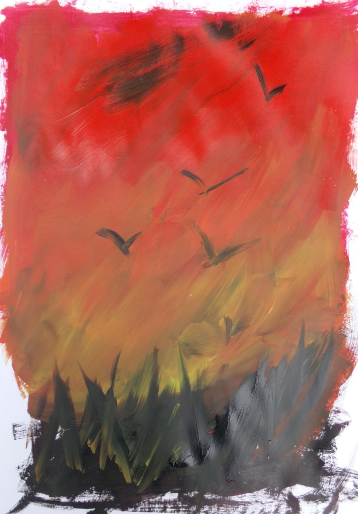 Sketch 199 Wild sky