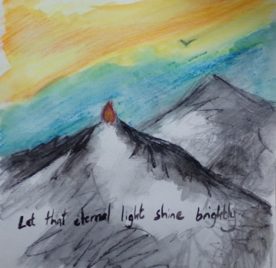 The eternal beacon by AnneMarie Foley