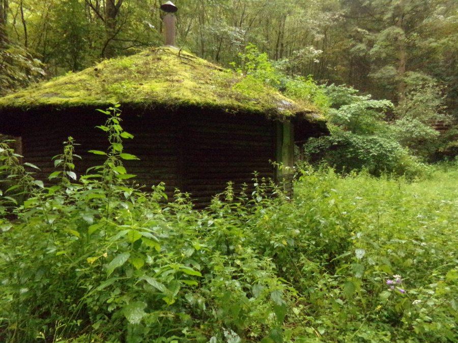 Abandoned roundhouse, Saarburg Germany