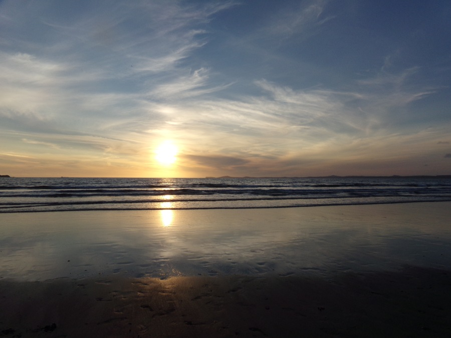 Broadhaven beach in west Wales photograph by AnneMarie Foley