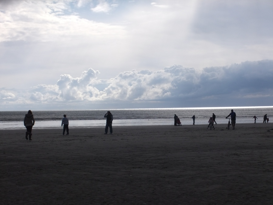 Pendine sands photograph by AnneMarie Foley