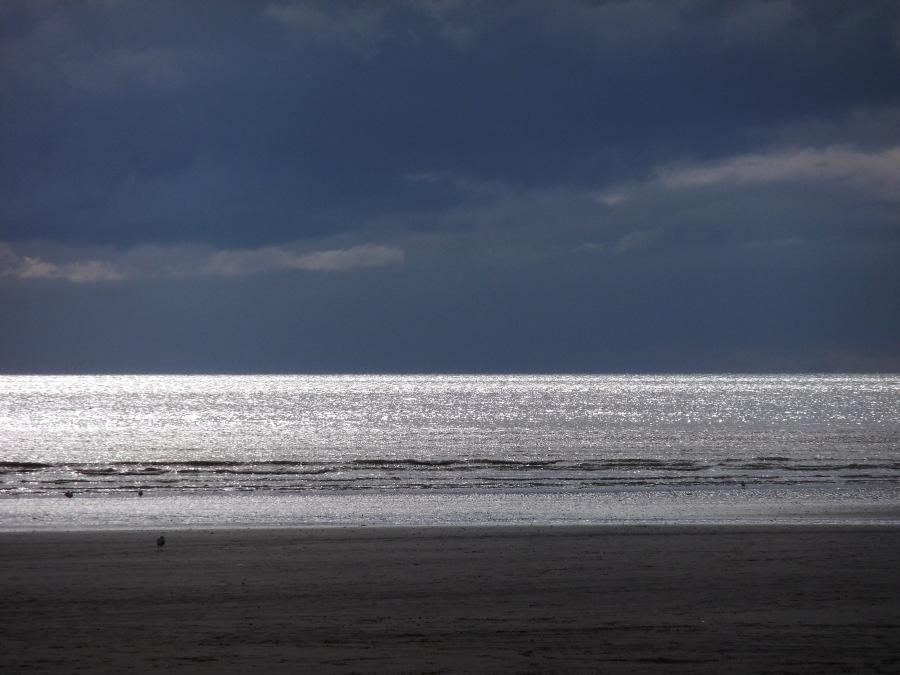 Midwinter sea