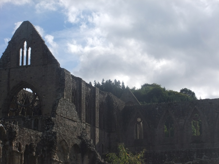 Tintern Abbey, my childhood playground, photograph by AnneMarie Foley